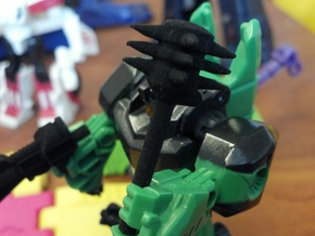 3mm Grimlock Historic Weapons in Black Natural Versatile Plastic