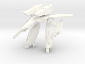 VF-1A Gerwalk 1/285 in White Processed Versatile Plastic