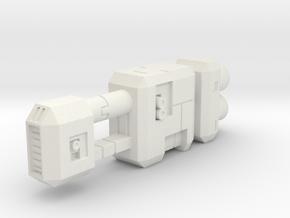 Tanker 2 in White Strong & Flexible