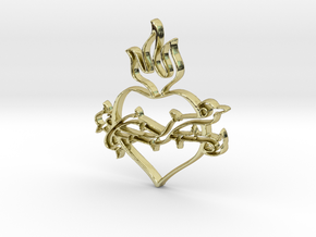 Heart 2 in 18k Gold