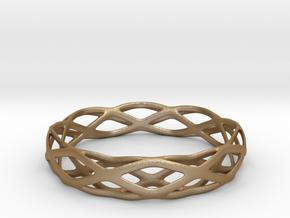 Magic Bracelet in Matte Gold Steel