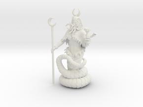 Queen Piece in White Natural Versatile Plastic