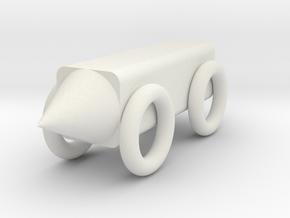 模型車 in White Strong & Flexible