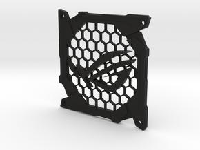 Fan grill (ROG) in Black Natural Versatile Plastic