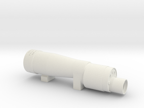 M38 E-11 Scope in White Natural Versatile Plastic