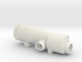 M19 E-11 Scope in White Natural Versatile Plastic