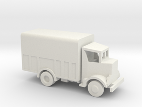 1/144 Scale Autocar 8144 Signal Corps Van in White Strong & Flexible