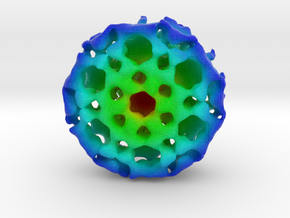 Virus-Like Particle in Full Color Sandstone