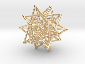 Flexo the Star (big) in 14K Yellow Gold
