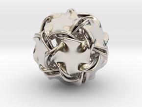 Icosa-ducov (no holes) in Platinum