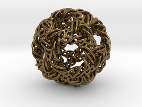 Icosidodeca-ducov in Natural Bronze