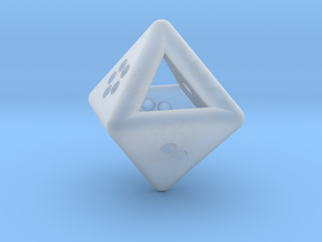 Unusual D8 (not twisted) in Smooth Fine Detail Plastic
