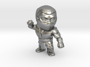 Ninja-Small in Natural Silver