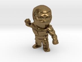 Ninja-Small in Natural Bronze