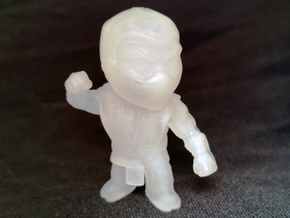 Ninja-Small in Smooth Fine Detail Plastic
