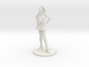 1/12 Halloween Cosplay Figure Juliet w/ Chainsaw in White Natural Versatile Plastic