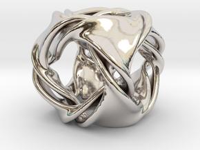 Cube ducov (no holes) in Platinum
