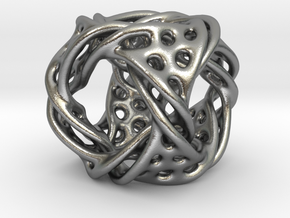 Cube ducov in Natural Silver (Interlocking Parts)