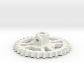 GEAR TOOTH 2-41 Scale in White Strong & Flexible