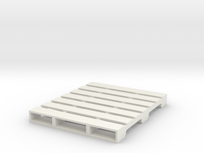 Pallet 1:50 Scale in White Strong & Flexible