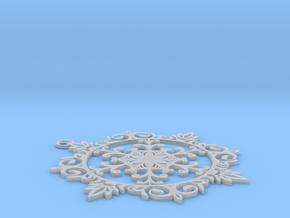雪花.stl in Frosted Ultra Detail