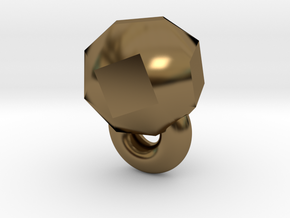 Monkey Rings in Polished Bronze