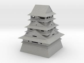 Kumamoto Castle in Aluminum