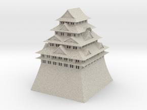 Nagoya Castle in Natural Sandstone