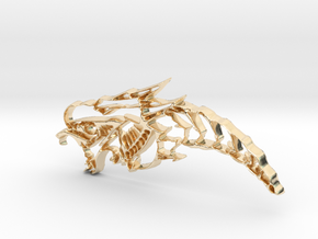 Drachenkopf / Dragonhead in 14K Yellow Gold