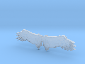 Angel's wing in Smoothest Fine Detail Plastic