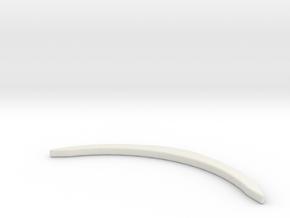 Renfort McLaren 12C MiniZ in White Natural Versatile Plastic