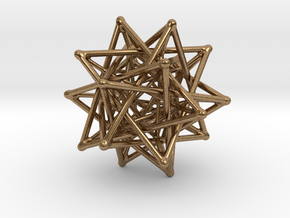 Flexo the Star in Natural Brass