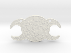 Triple Goddess by Gabrielle in White Natural Versatile Plastic