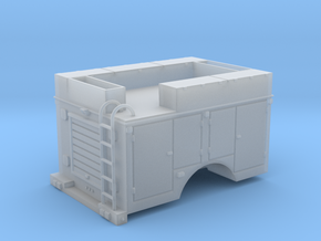 Pickup Rescue Truck 1-64 Scale in Smooth Fine Detail Plastic