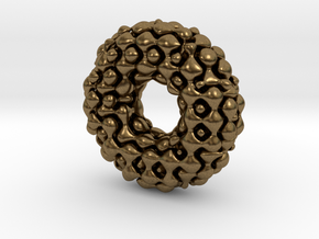 Color Möbius lattice (fat) in Natural Bronze