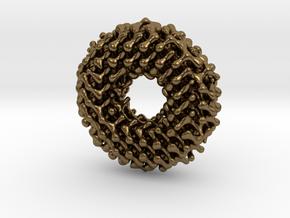 Möbius diamond lattice in Natural Bronze: Small