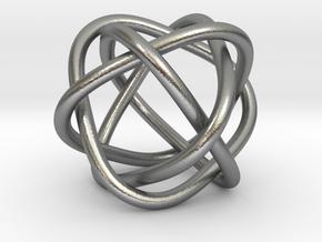 4 rings in Natural Silver (Interlocking Parts)