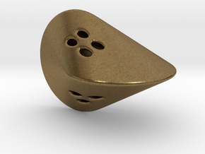 Oloid D4 in Natural Bronze