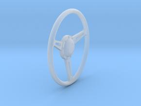 GT500 Steering Wheel 1/18 in Smooth Fine Detail Plastic