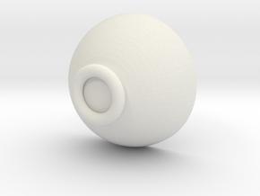 碗.x3d in White Strong & Flexible