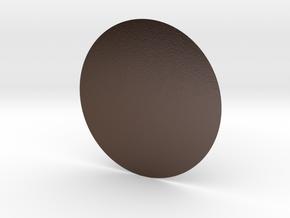 圓桌.x3d in Polished Bronze Steel