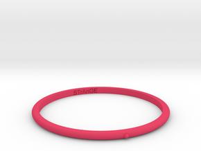 DARK in Pink Processed Versatile Plastic