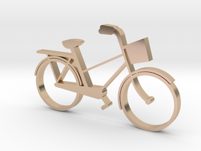 Bike in 14k Rose Gold Plated Brass