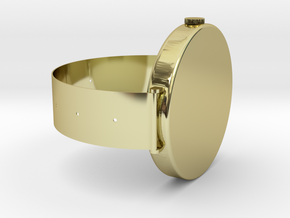 SOL M' Watch in 18k Gold Plated Brass