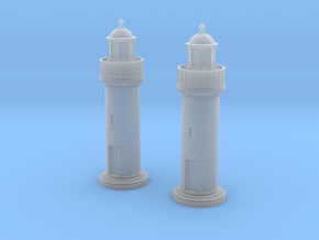Zpb10 - Small brittany lighthouse in Smoothest Fine Detail Plastic