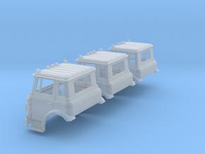 N-scale International Cargostar Cab x3 in Smoothest Fine Detail Plastic