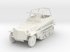 PV160 Sdkfz 250/3 FPW (1/48) in White Natural Versatile Plastic