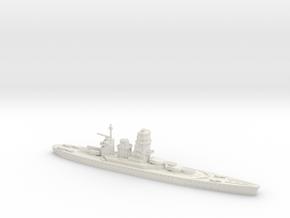 IJN Fujimoto 1/1250 (Fujimoto's Treaty Battleship) in White Strong & Flexible
