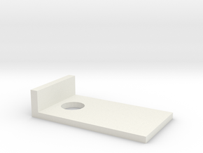 cornhole quarters in White Natural Versatile Plastic