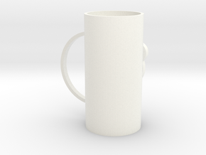 cup in White Processed Versatile Plastic